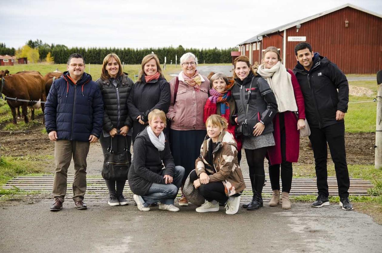 Praksisstudent på UNESCO-samling i Østersund