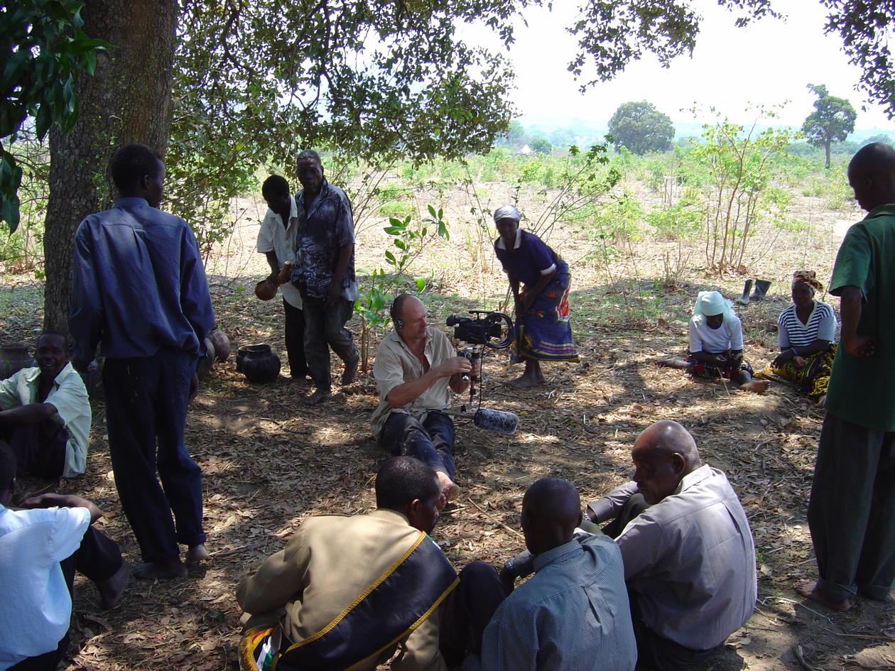 Opptak til filmen Making Rain - i Mosambik