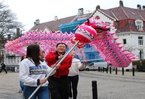 Image of dragon dance