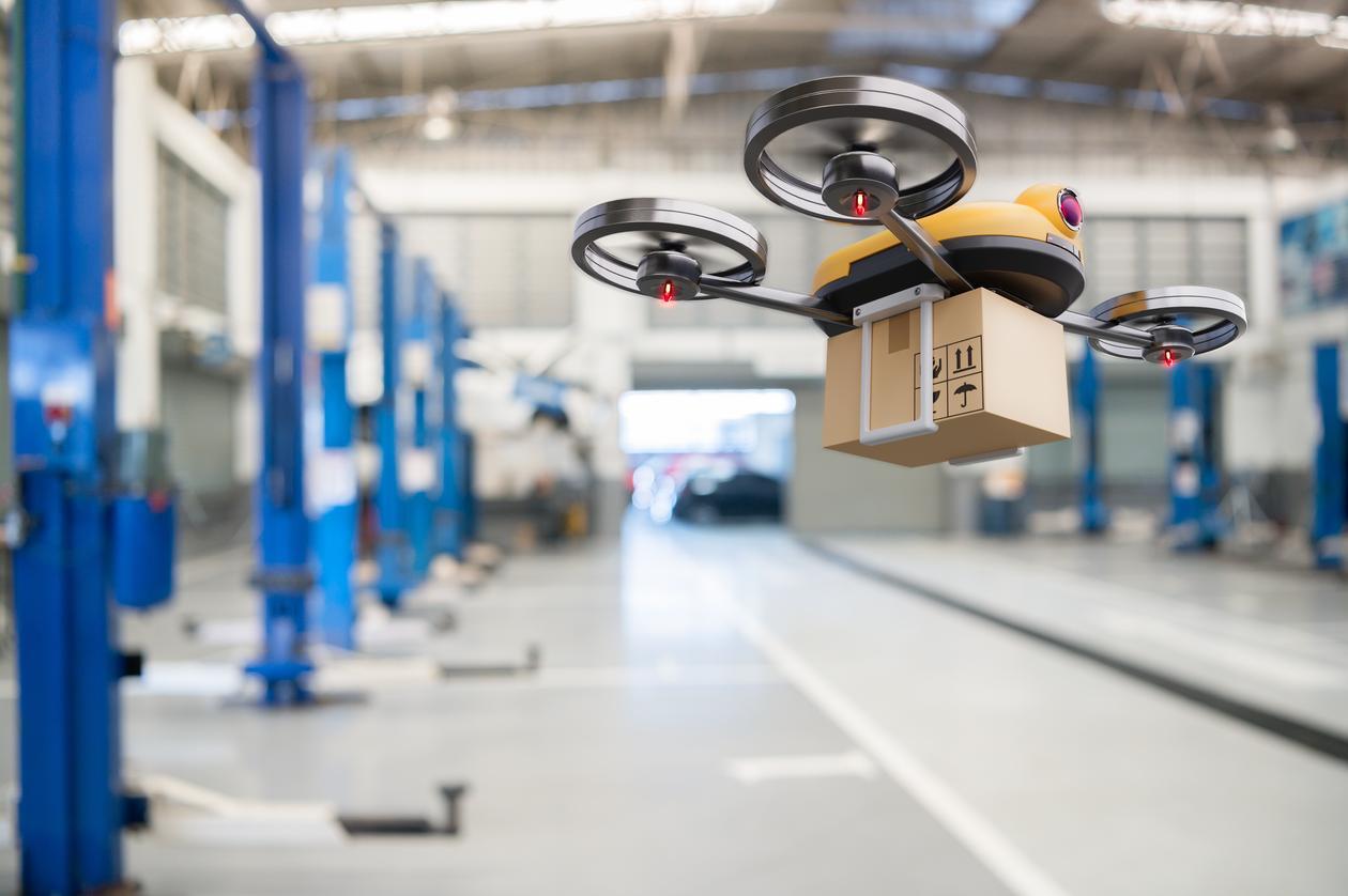 Drone, illustrasjonsbilde