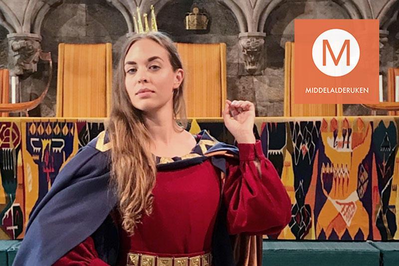 Dronning Isabella i Håkonshallen