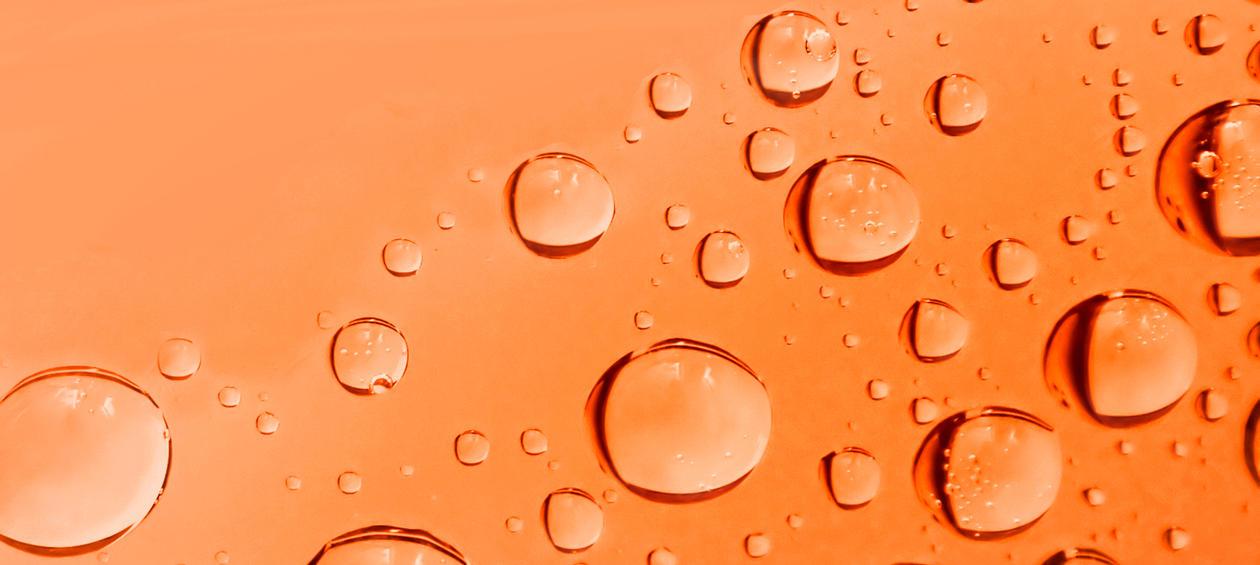 drops of liquid, illustration