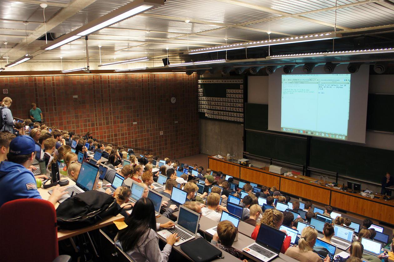 Full sal i auditorium A