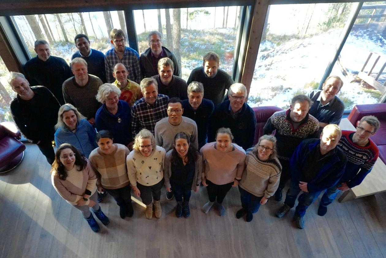 Group photo from 2nd dCod Winter Workshop