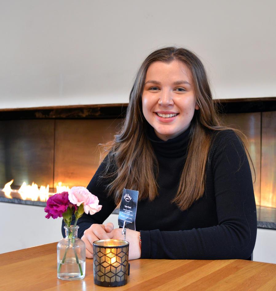 Ylva Rohde på Christie Cafe