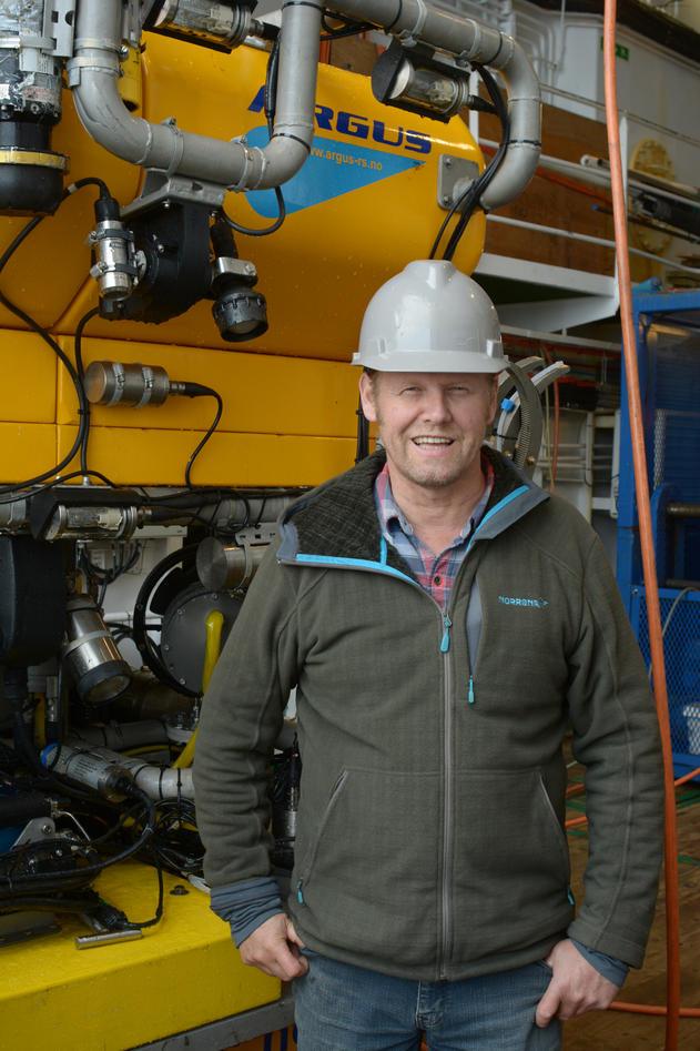 Professor Rolf Birger Pedersen, Department of Earth Science, University of Bergen.