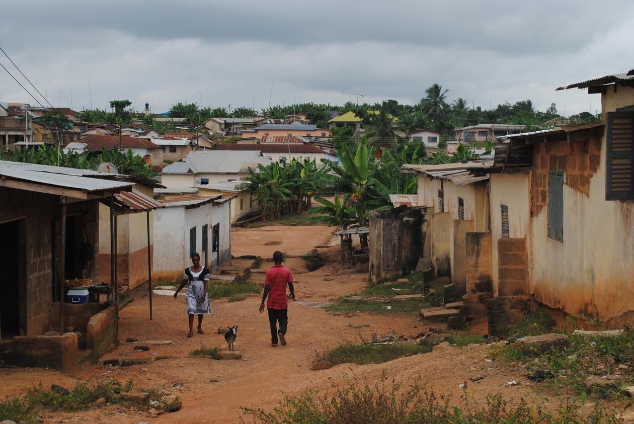 Feltarbeid i Ghana