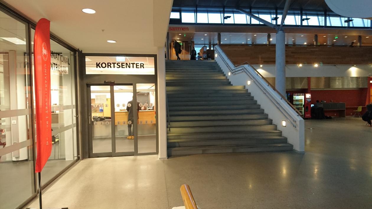 Bilde av lokale til Kortsenteret.
