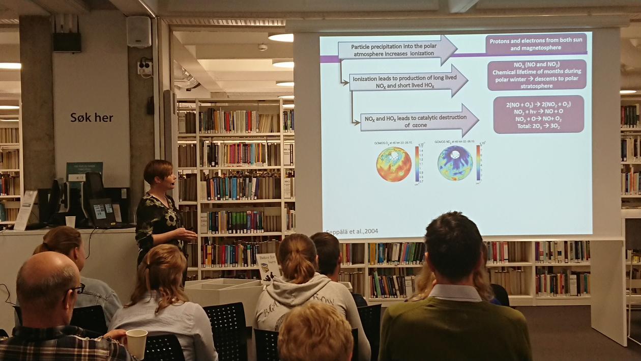 Presentation by Hilde Nesse Tyssøy