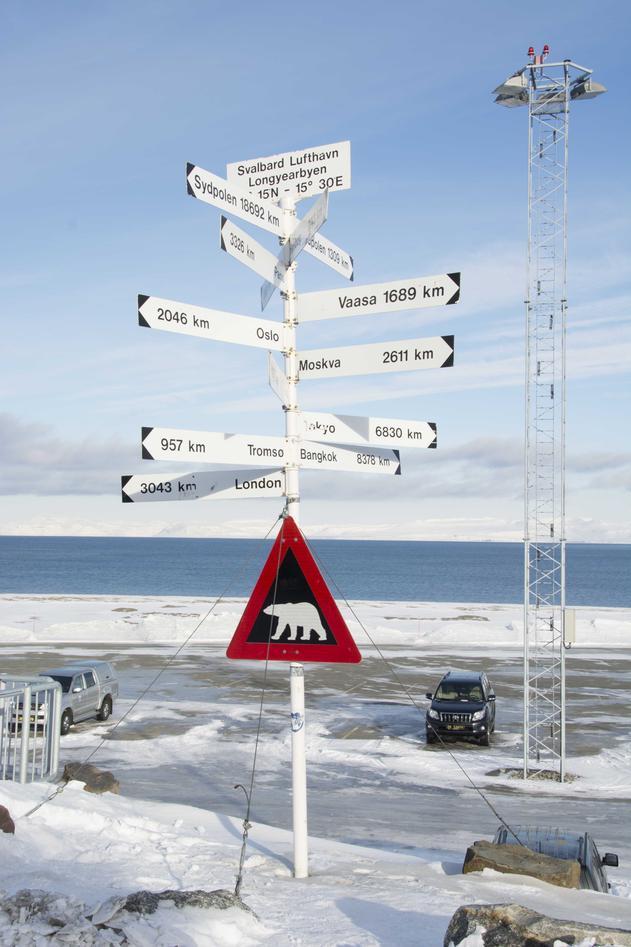 Svalbard flyplass