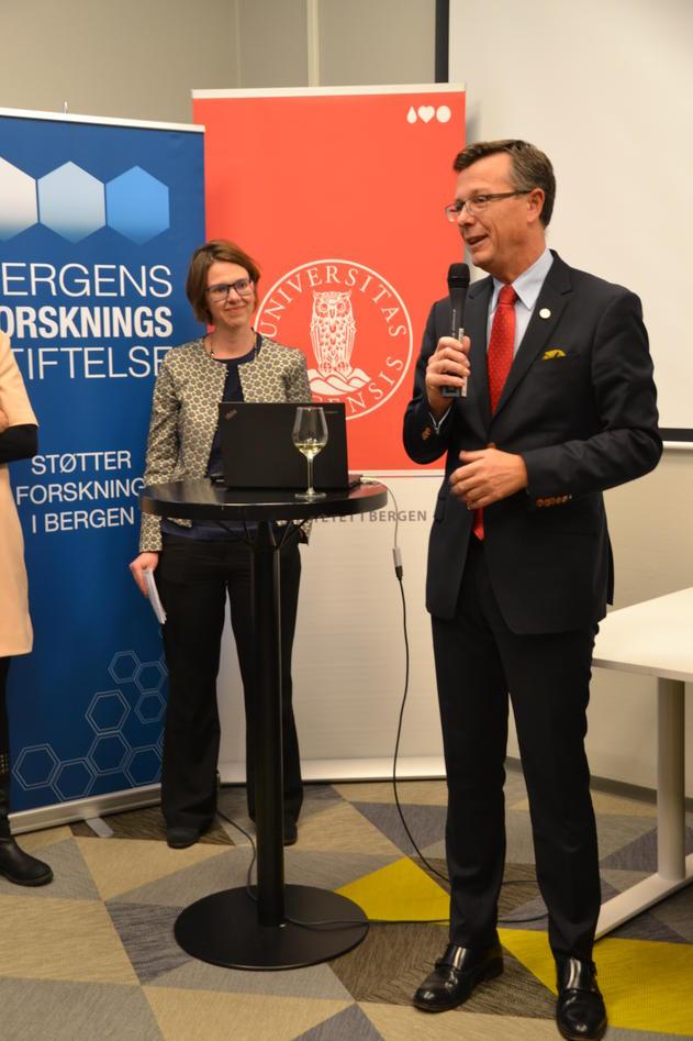 Elisabeth Ivarsflaten og Dag Rune Olsen