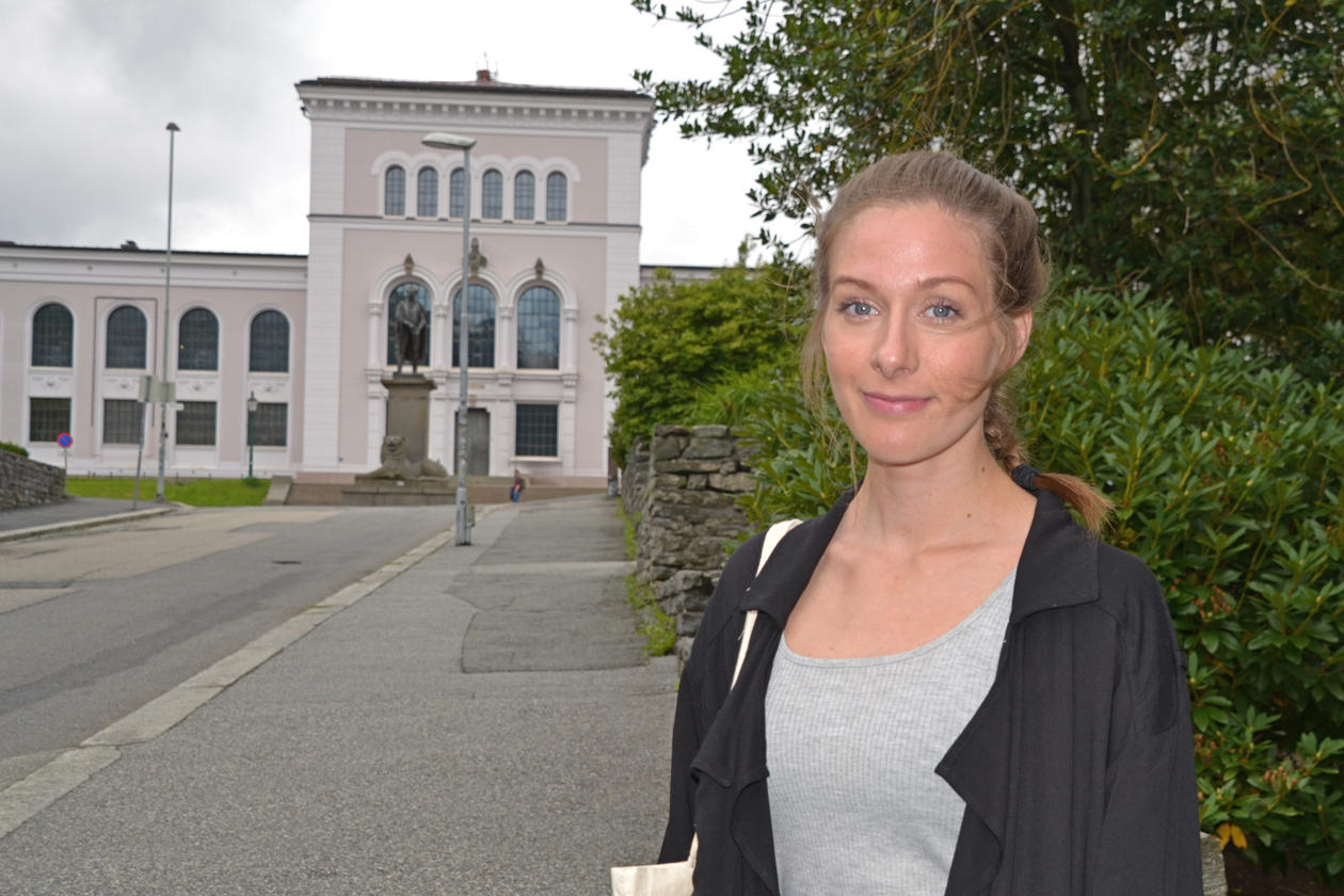 Tina Totland Jenssen, ny student på Europastudier.