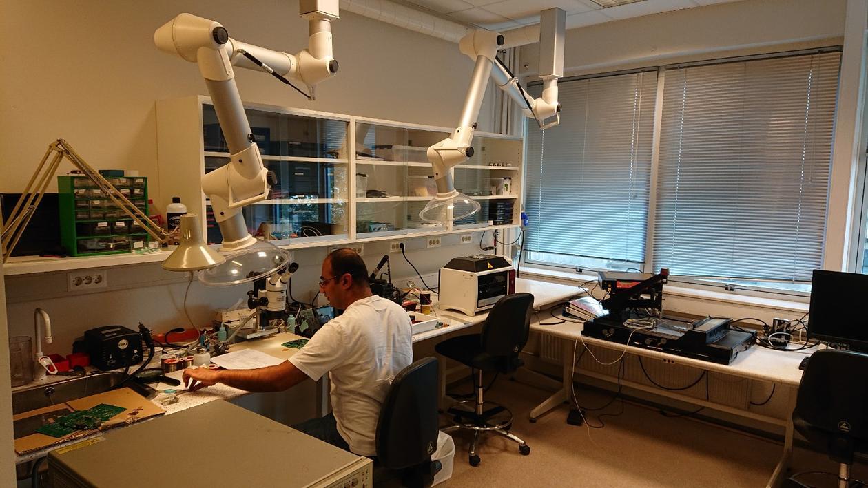 Elektronikk-laboratoried ved Subatomær fysikk