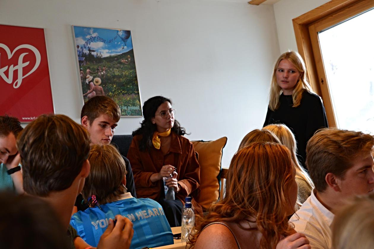 Ingvild Misje forteller om utveksling.