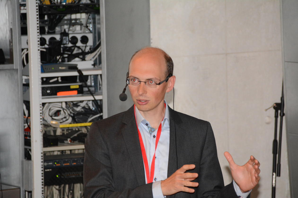 Emanuel Rognoni at the CAFFEIN Conference