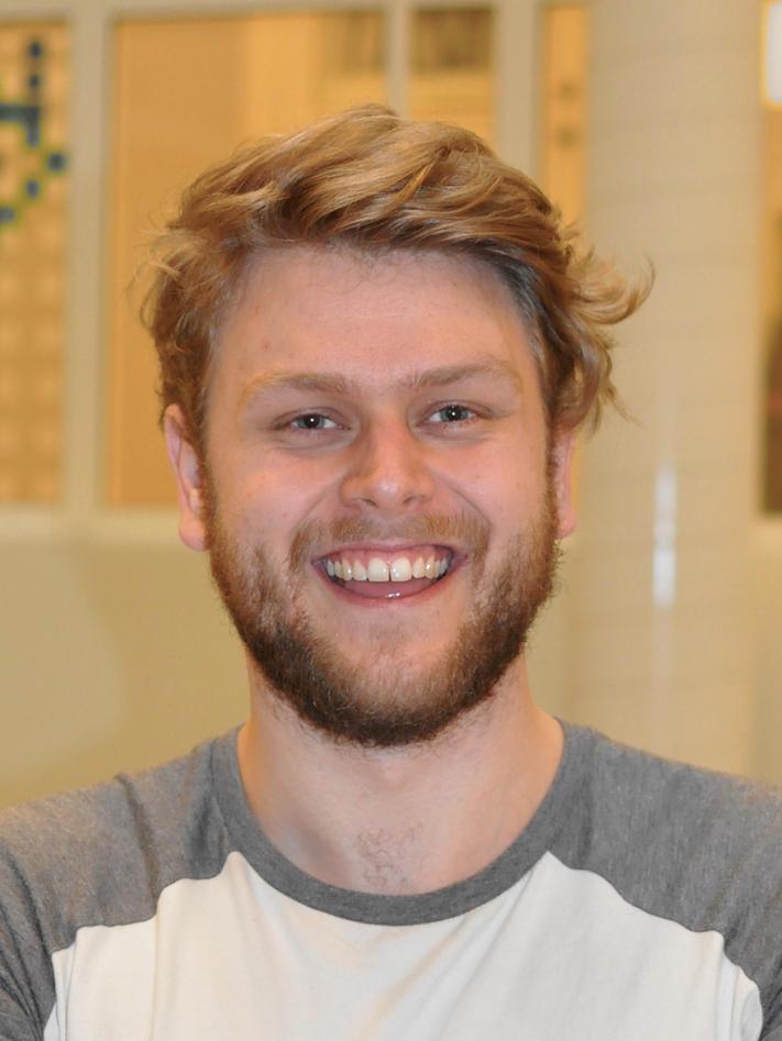Masterstudent i medievitenskap, Oskar Hjartåker.