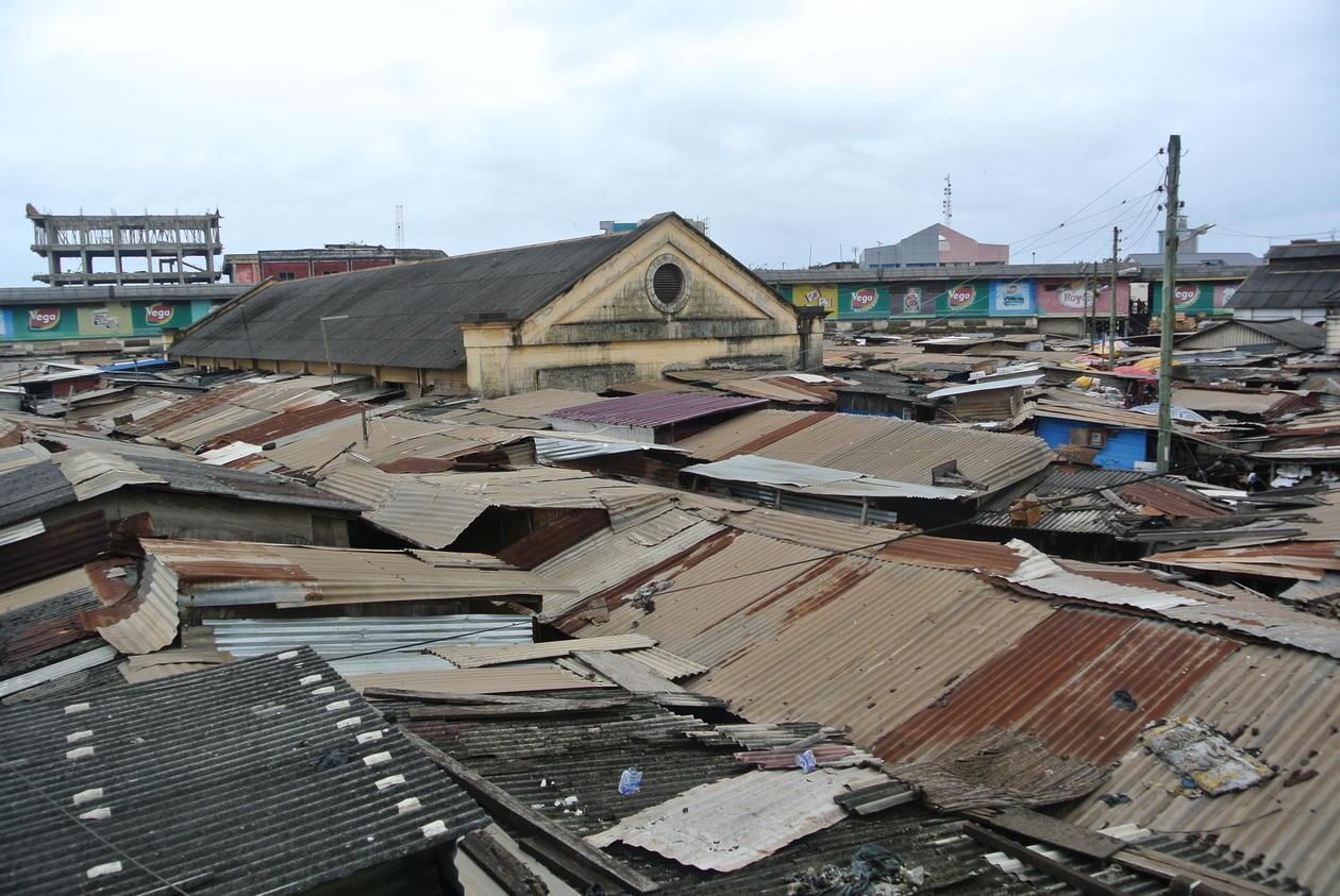 From field work in Ghana.
