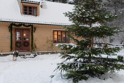 Blondehuset at Christmas