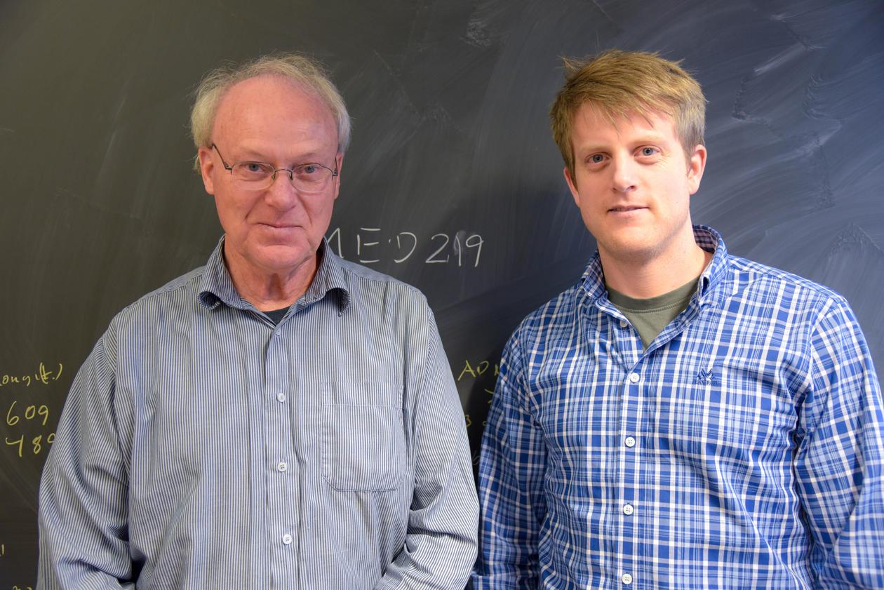 Far og sønn Lundervold