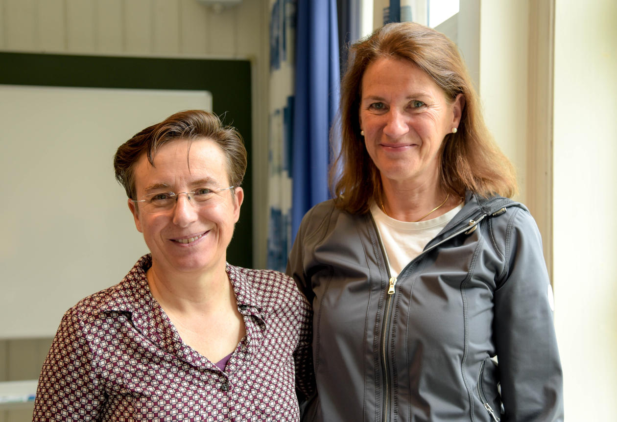 Heather allore togheter with Bettina Husebø