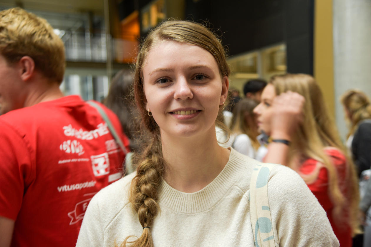 Tannpleiestudent Julie Kvammen