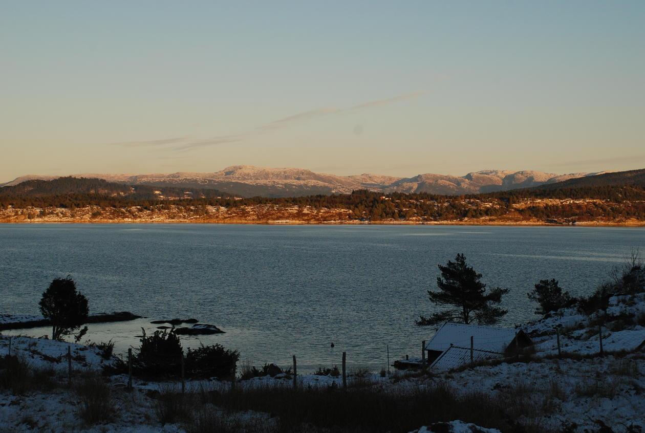 Lurefjorden - one of the core areas of Nordhordland Biosphere Area