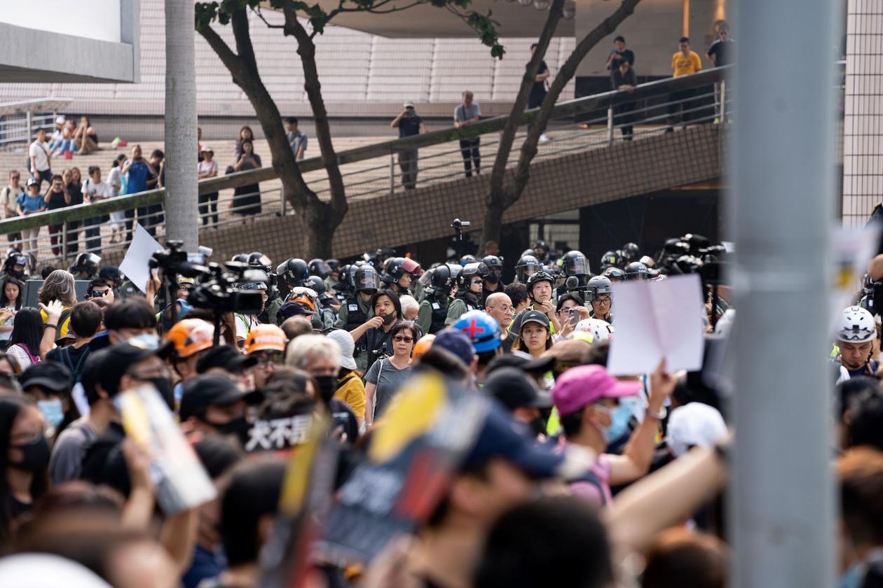 Demonstrasjoner i Hongkong