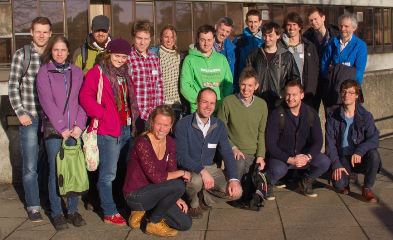 Group picture at UEA together with Prof. Renfrew's group and scientists from BAS