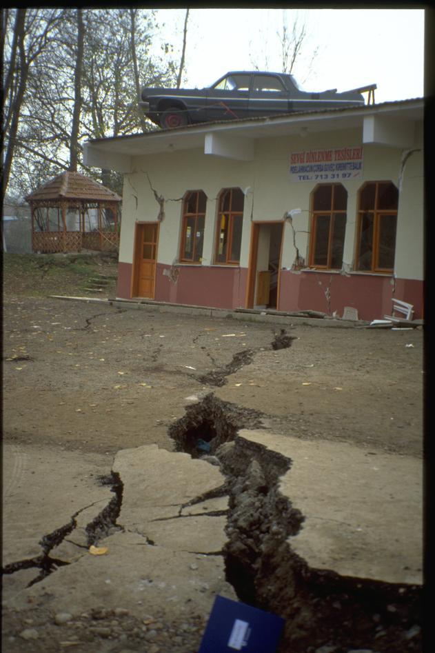 Jordskjelvskade i Tyrkia
