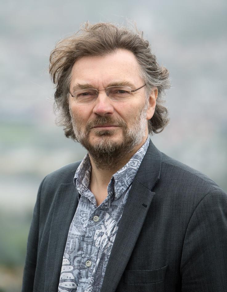 Professor Edvard Hviding, Department of Social Anthropology, University of Bergen (UiB), photographed in May 2015.