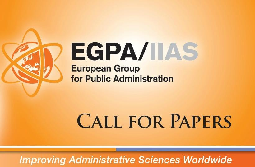EGPA Call for papers