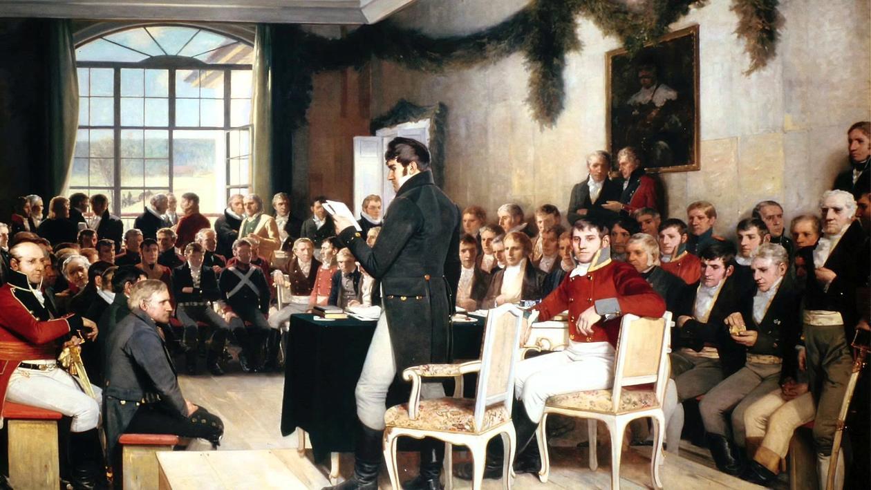 Grunnlovsforsamlingen på Eidsvoll