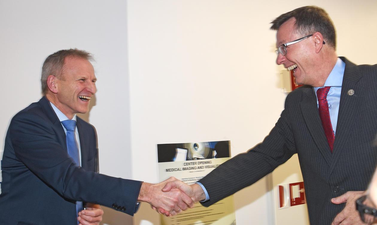 Eivind Hansen og Dag Rune Olsen