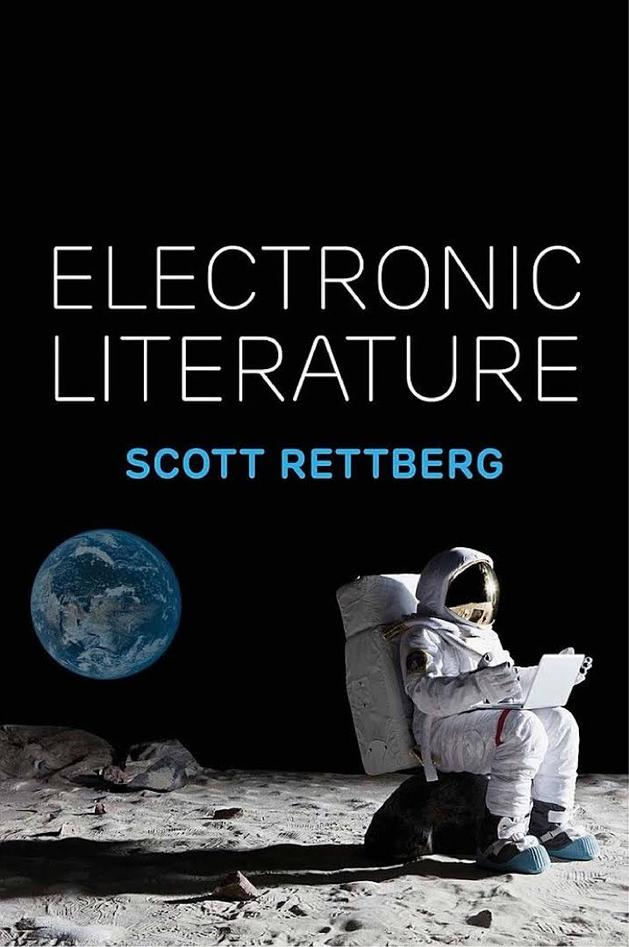 Book cover of Electronic Literature