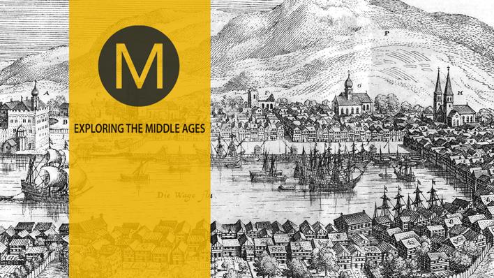 Bilde av Bergen i middelalderen