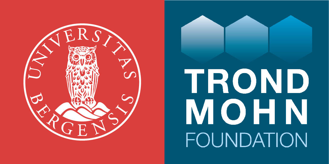 UiB and Trond Mohn Foundation's logos