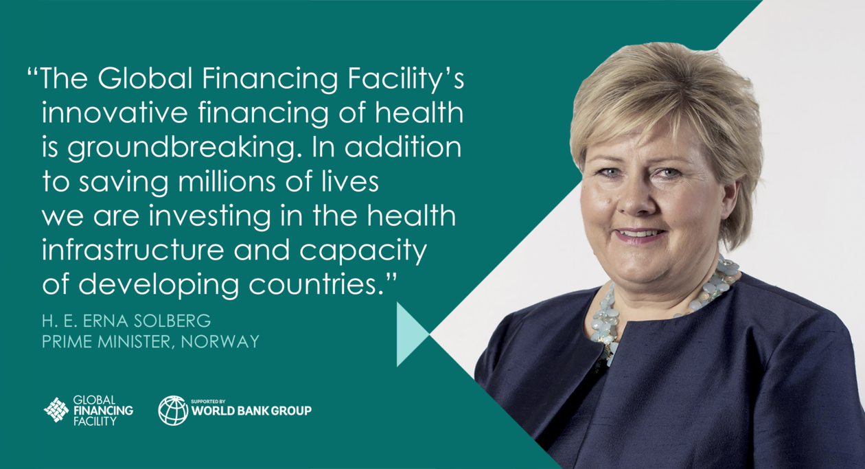 Quote by Prime Minister Erna Solberg