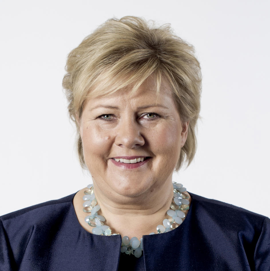 Prime Minister Erna Solberg, Government of Norway.