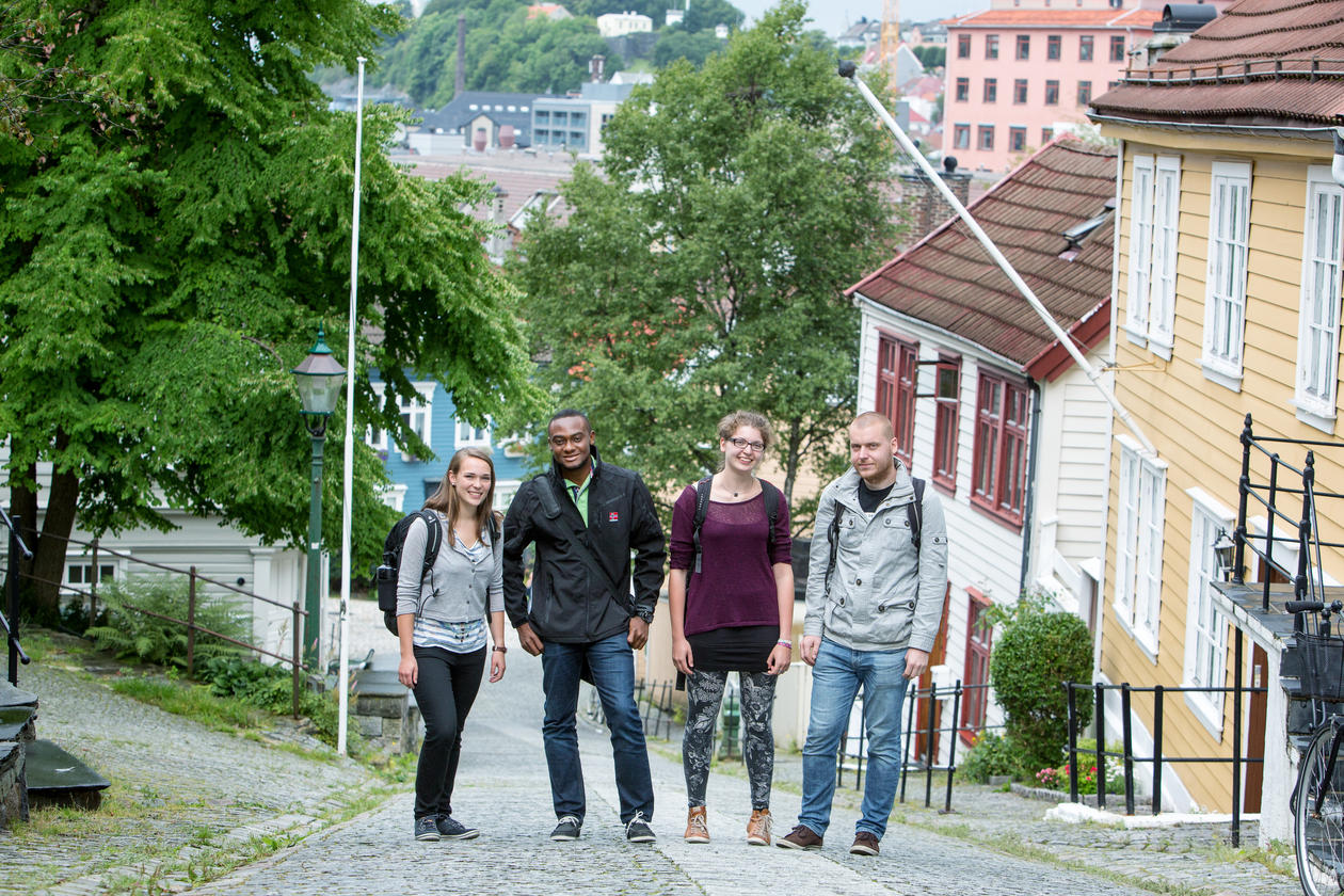 Exchange students at UiB