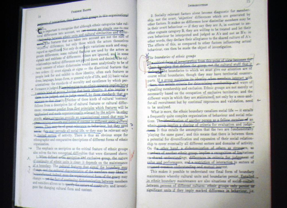 Fredrik Barths bok