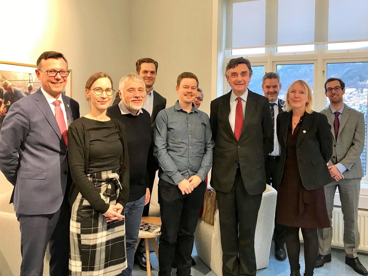 EU-ambassador Thierry Béchet said when he was visiting the SapienCE Centre