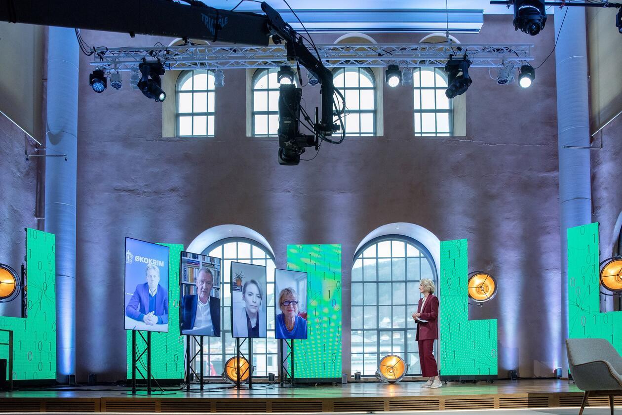Guri Solberg leder digitalt panel med Joly, Kaski, Lønseth og Kreutzer