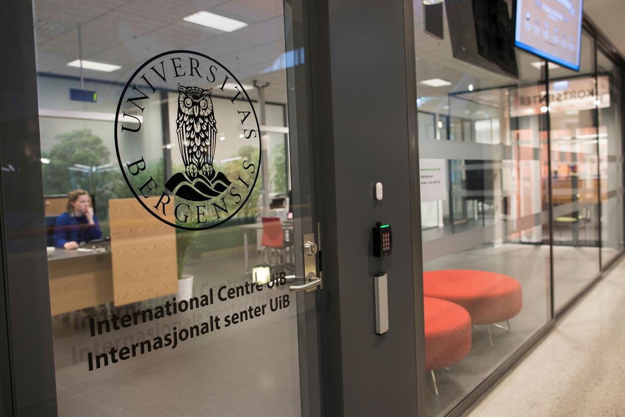 Entrance to International Centre UiB