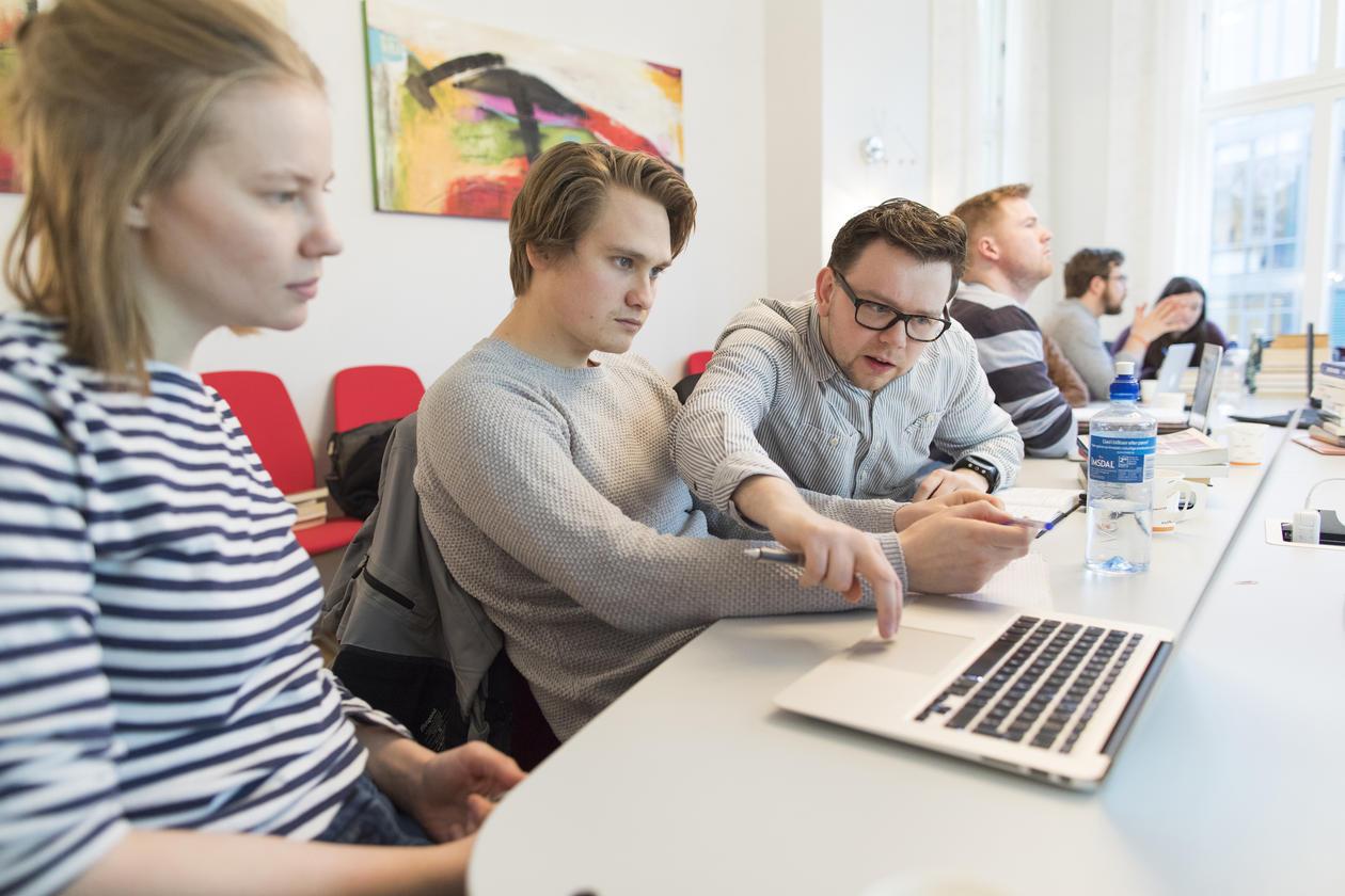 Kim Arne Hammerstad, Lena Aastrøm og Sindre Fjellstad Johnsen