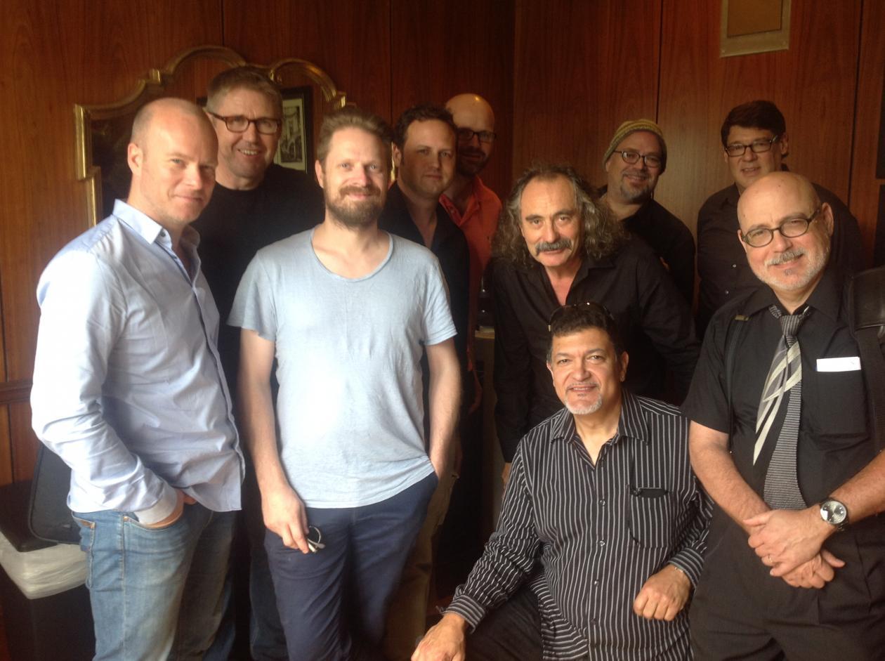 Jazz faculty meeting