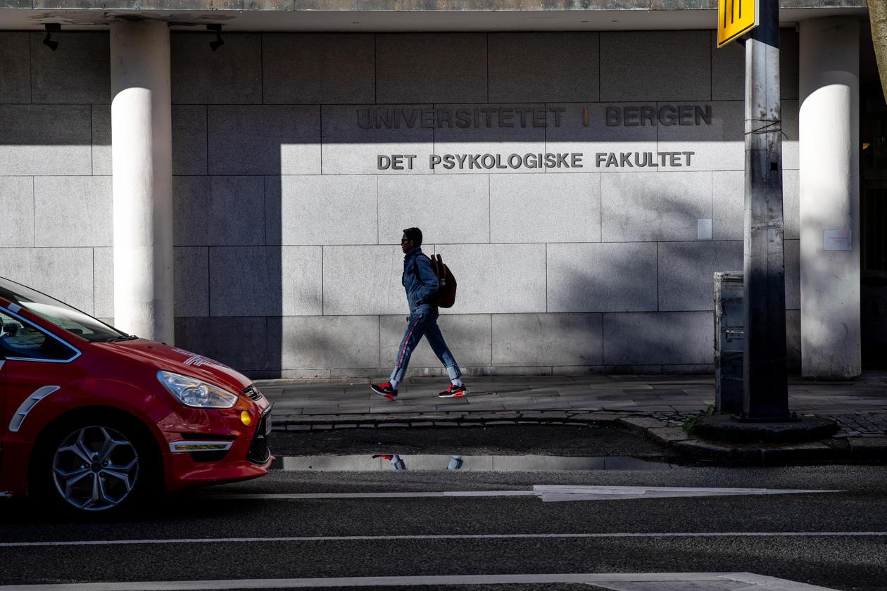 Fasade Det psykologiske fakultet