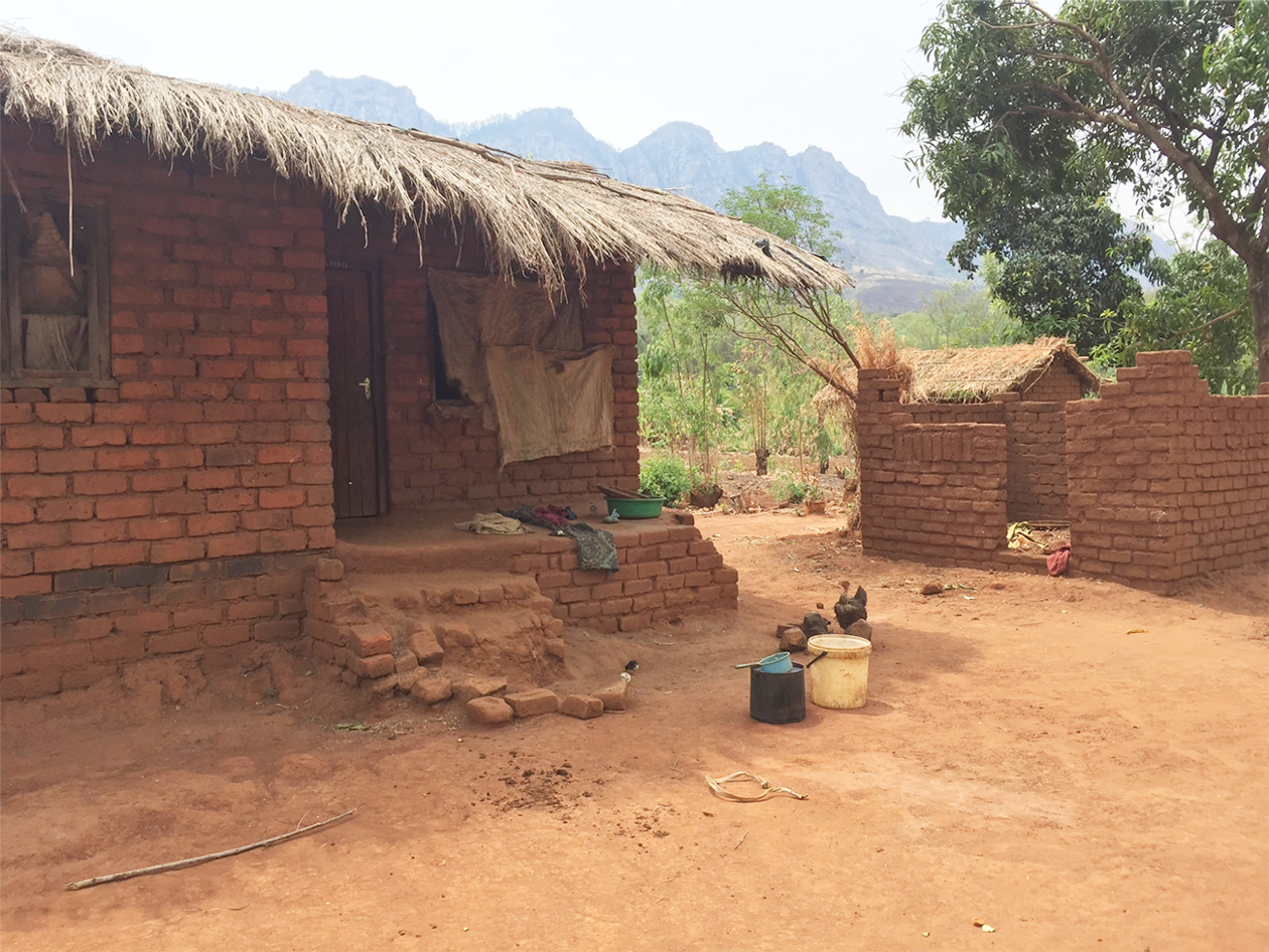 Family home in Malawi