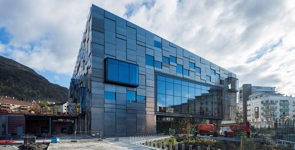 Nytt bygg for Fakultet for kunst, musikk og design i Møllendalsveien