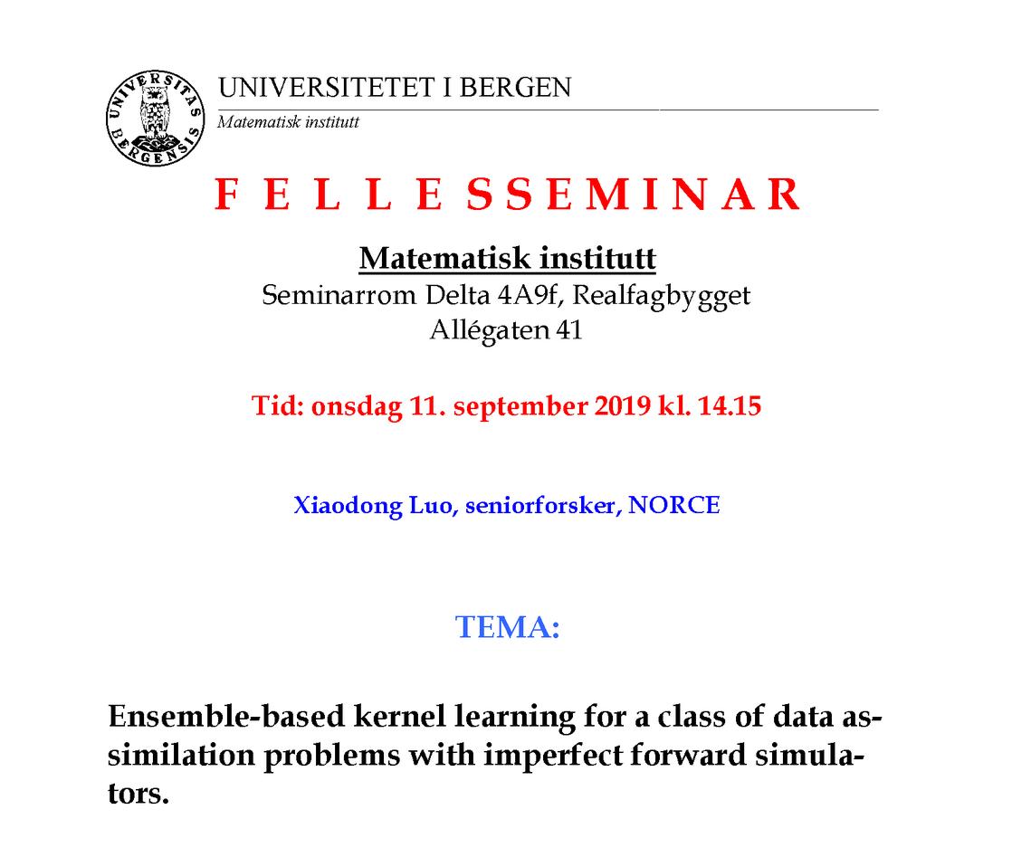 Ensemble-based kernel learning
