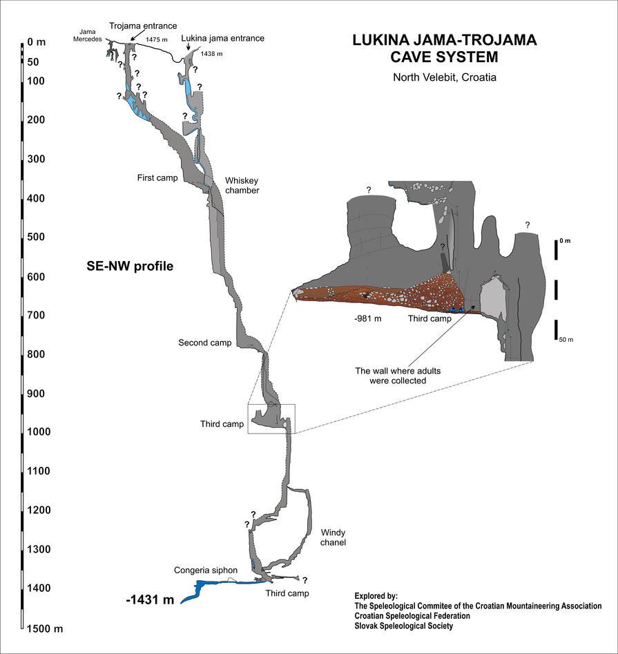Lukina-Jama-Trojama caves